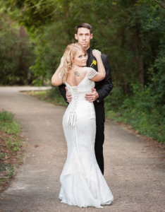 Altered Wedding Gown
